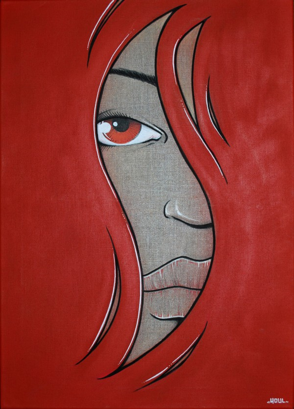 RedHair (Toile) - Vendue/Sold