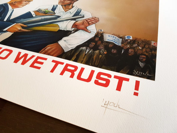 Crypto Trust (Deluxe Limited & signed /15ex Art Print)