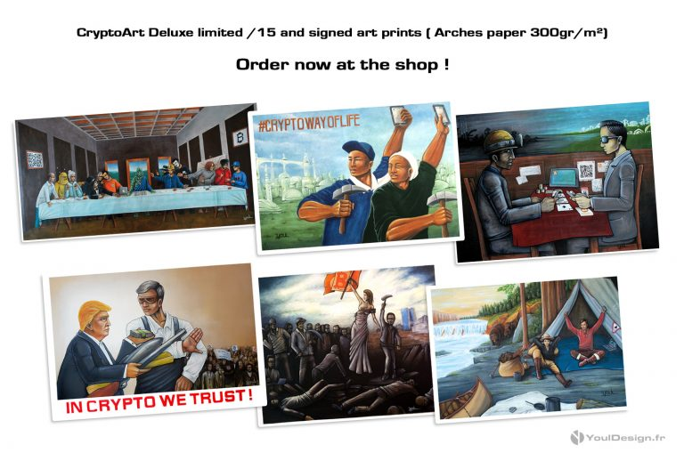 Limited (15ex) Deluxe signed art prints !