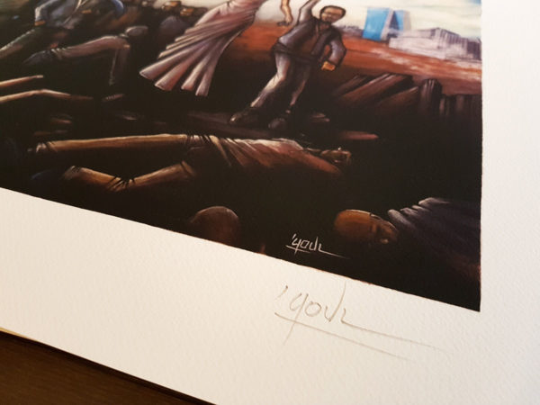 Crypto Liberty (Deluxe Limited & signed /15ex Art Print)